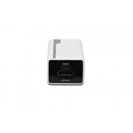 *MINIBATTERIA UNIVERSALE PER TABLET/SMARTPHONE USB 5 VOLT 2200 MAH COLORE BIANCO
