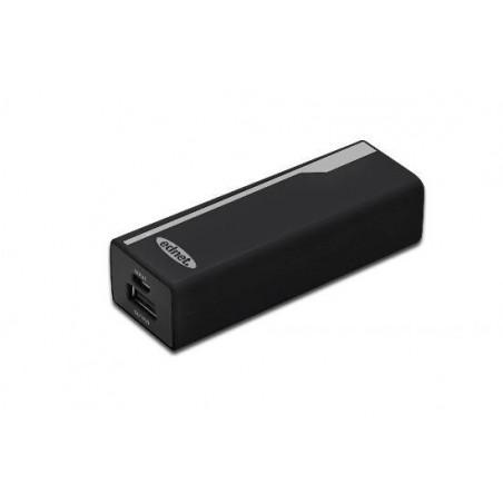*MINIBATTERIA UNIVERSALE PER TABLET/SMARTPHONE USB 5 VOLT CAPACITA' REALI 2200 MAH COLORE NERO