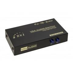 DATA SWITCH MANUALE VGA 150MHZ 2 PORTE CON AUDIO