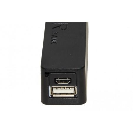 MINIBATTERIA UNIVERSALE PER TABLET/SMARTPHONE USB 5 VOLT CAPACITA' 2600 MAH COLORE NERO