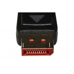 CAVO DISPLAYPORT 1.4 - HDMI 2.0 CONTATTI DORATI 4KX2K 60HZ 18GBPS HDR RGB 4:4:4 MT 3