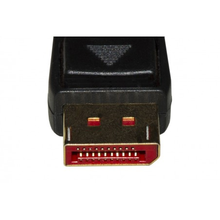 CAVO DISPLAYPORT 1.4 - HDMI 2.0 CONTATTI DORATI 4KX2K 60HZ 18GBPS HDR RGB 4:4:4 MT 5