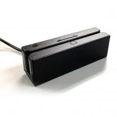 LETTORE BADGE (CARD A BANDA MAGNETICA)  ISO 7811 CONNETTORE USB A 3 TRACCE