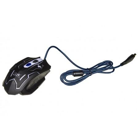 MOUSE GAMING USB 6 TASTI ILLUMINATO 7 COLORI