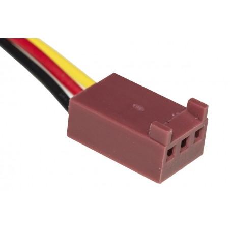 VENTOLA 50X50X10 12 VOLT CONNETTORE 3 FILI CON VITI INCLUSE