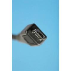 """CAVO DI CONNESSIONE MICRO USB """"B"""" - LUNGHEZZA MT. 1 SCHERMATO"""