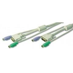 CARICABATTERIA USB UNIVERSALE 1 PORTA USB + 1 PORTA TIPO C EDNET