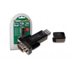 ADATTATORE DA PC USB 2.0  A PORTA SERIALE RS232 9 PIN MASCHIO