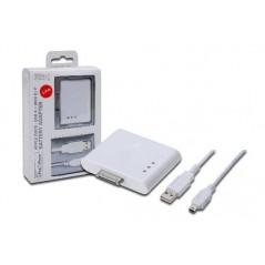 POWER BANK CON CONNETTORE 30 POLI PER APPLE E ADATTATORE USB
