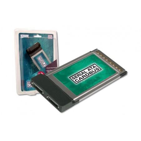 ADATTATORE PCCARD - PCMCIA CON DUE PORTE SATA