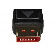 CAVO DISPLAYPORT 1.4 - HDMI 2.0 CONTATTI DORATI 4KX2K 60HZ 18GBPS HDR RGB 4:4:4 MT 10
