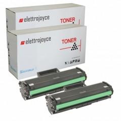 KIT 2 TONER COMPATIBILI MLT-D101S SAMSUNG ML2160 ML-2165W SCX-3400F SCX-3405F SCX-3405FW SCX-3405W