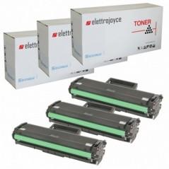 KIT 3 TONER PER SAMSUNG XPRESS M2020 M2022W M2070 M2070F M2070FW M2070W MLT-D111S