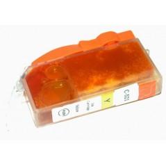 CARTUCCIA COMPATIBILE CANON PIXMA MP 540, MP 620, MP 630, MX 980, IP 3600, IP 4600 COD. CLI 521-Y (INCHIOSTRO 10 ML.) CO