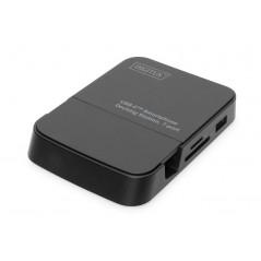 DOCKING STATION CONNETTORE USB TIPO C CON 7 PORTE PER SMARTPHONE