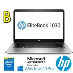 "NOTEBOOK RICONDIZIONATOHP ELITEBOOK 1030 G1 M7-6Y75 16GB RAM 256GB SSD 13.3"" WINDOWS 10 PROFESSIONAL [GRADE B]"