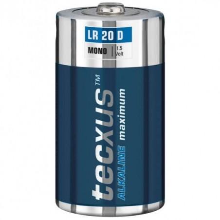 BATTERIE ALCALINE 1.5 VOLT LR20 TORCIA BLISTER 2 PZ.(A LR20-BP2)