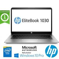 "NOTEBOOK RICONDIZIONATO HP ELITEBOOK 1030 G1 M7-6Y75 16GB RAM 256GB SSD 13.3"" WINDOWS 10 PROFESSIONAL"