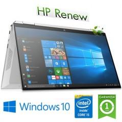 """NOTEBOOK RICONDIZIONATO CONVERTIBLE HP SPECTRE X360 13-AW0015NL CORE I5-1035G4 8GB 512GB SSD 13.3"""" FHD TS WINDOWS 10 HOME"""