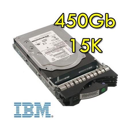 (REFURBISHED) HARD DISK PER SERVER IBM 17P9907 450GB 15K RPM FIBER CON SLITTA
