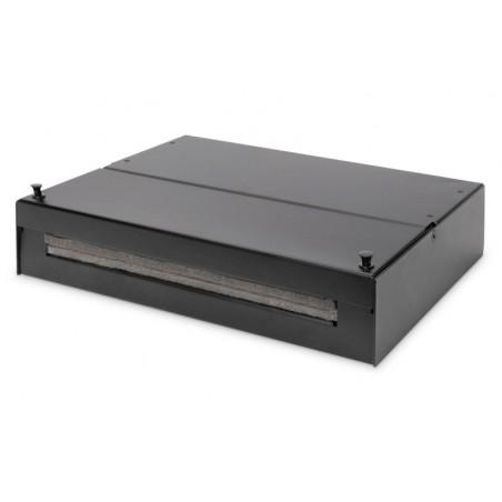 DIGITUS BOX PUNTO DI CONSOLIDAMENTO PER MODULI KEYSTONE / ACCOPPIAMENTI A FIBRA OTTICA PER 12 X KEYSTONE, 6XLC DX