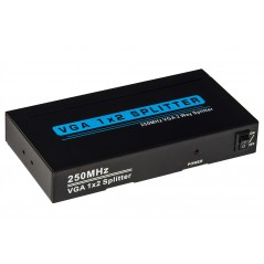 SPLITTER VGA 2 PORTE 250 MHZ