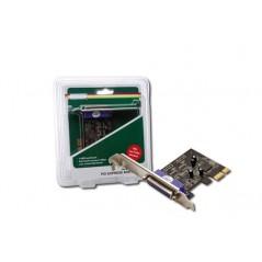 SCHEDA PCI-EXPRESS CON 1 PORTA PARALLELA 25 POLI