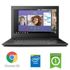 "NOTEBOOK RICONDIZIONATO LENOVO CHROMEBOOK 100E INTEL CELERON N4020 1.1GHZ 4GB 32GB SSD 11.6"" HD CHROME OS [NUOVO]"