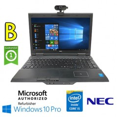 """NOTEBOOK RICONDIZIONATO NEC VERSAPRO VD-VK27M CORE I5-4310M 8GB 128GB SSD 15.6"""" HD + WEBCAM + WIFI DONGLE WIN 10 PRO[GRAD"""