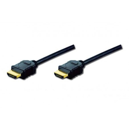 CAVO DI COLLEGAMENTO HDMI 4K 3D CON ETHERNET CONNETTORI DORATI MT. 3 TRIPLA SCHERMATURA