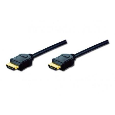 CAVO DI COLLEGAMENTO HDMI 3DCON ETHERNET CONNETTORI DORATI MT. 5 TRIPLA SCHERMATURA