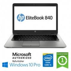 "NOTEBOOK RICONDIZIONATO HP ELITEBOOK 840 G3 CORE I5-6200U 8GB 256GB SSD 14""  WINDOWS 10 PROFESSIONAL"