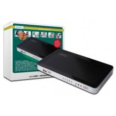 SWITCH HDMI CON 4 INGRESSI HDMI, 1 INGRESSO USB DA PC E 1 USCITA VIDEO HDMI