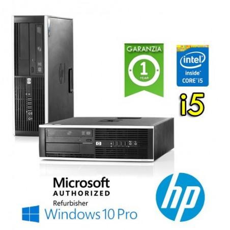 (REFURBISHED) PC HP COMPAQ 8300 ELITE CORE I5-3330 3.2GHZ 8GB RAM 240GB SSD DVD SFF WINDOWS 10 PROFESSIONAL