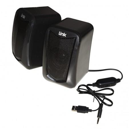 CASSE AUDIO 5 WATT USB CON CONTROLLO VOLUME