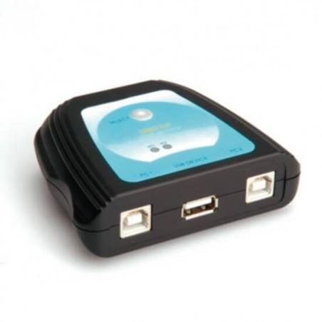 SWITCH MANUALE 2 PORTE USB 2.0 PER STAMPANTI