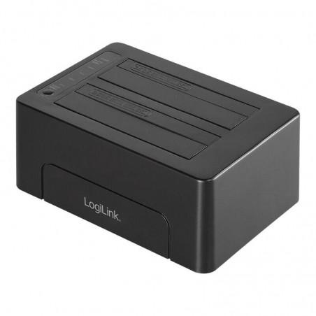 "DOCKING STATION USB 3.1 GEN 2 PER 2 HDD/SSD 2,5"" E 1 3,5"" SATA"