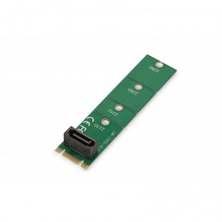SCHEDA PCI-EXPRESS PER CONVERTIRE SSD NGFF (M.2) SU SATA