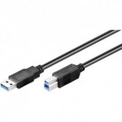 CAVO USB 3.0 CONNETTORI A-B 9 POLI MT. 0,5