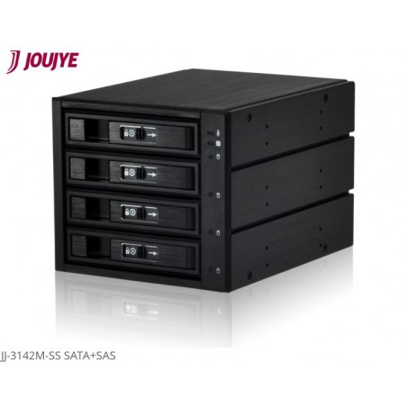 "BOX HDD-SSD SATA + SAS 3,5"" O 2,5"" NERO"