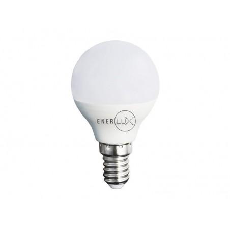 LAMPADINA LED ENERLUX E14 7W 2800°,K LUCE CALDA LUMEN 638