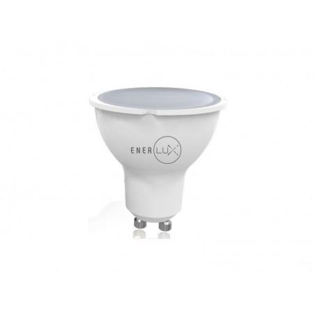 LAMPADINA LED ENERLUX GU10 4W 2800°,K LUCE CALDA FARETTO LUME