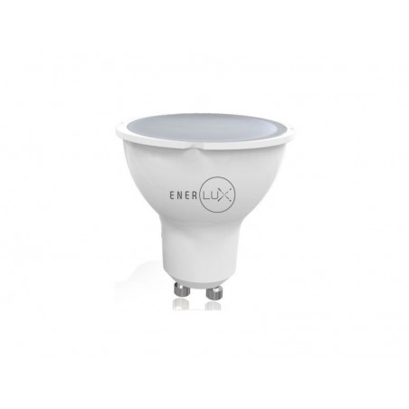 LAMPADINA LED ENERLUX GU10 4W 6500K LUCE FREDDA FARETTO LUMEN 281