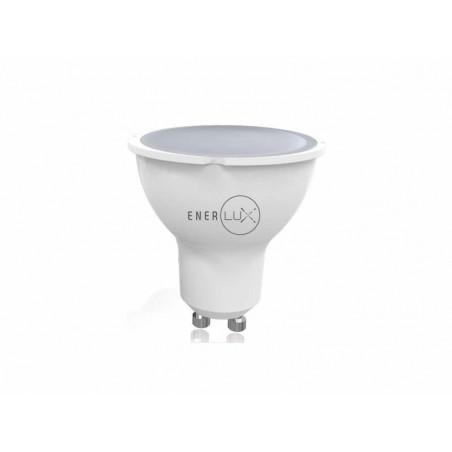 LAMPADINA LED ENERLUX GU10 7W 6500K LUCE FREDDA FARETTO LUMEN 550