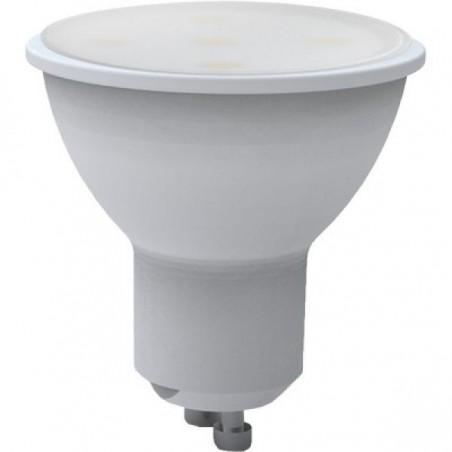 FARETTO LED SKYL GU10 5W 6400K 220V SMOOTH 100°, 480 LUMEN