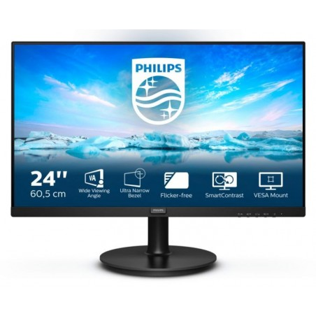 MON 23,6VA VGA HDMI 4MS PHILIPS 241V8L/00 16:9 3000:1