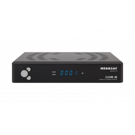 DECODER DVBS-2,MEGASAT HD 601 V3 50 MHZ TO 2150 MHZ SAT FREE TV