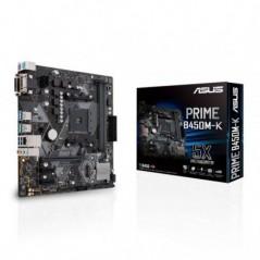 MB ASUS B450M-K AMD RYZEN AMD 2D4 V/D GBL M.2 6U3 PS2