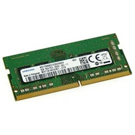 DDR4 8GB 2666 MHZ SO-DIMM SAMSUNG CL19 PC4-21300 1,2V COMPATIB. APPLE