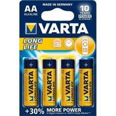 BATTERIA STILO AA 1,5V LR6 LONG LIFE 4PZ VARTA
